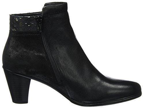 Gabor Shoes 55.61, Botines, Mujer Negro (Schwarz micro)