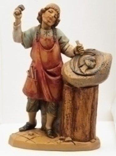 Fontanini Tiberius Roman Sculptor * Nativity Village Collectible 75514