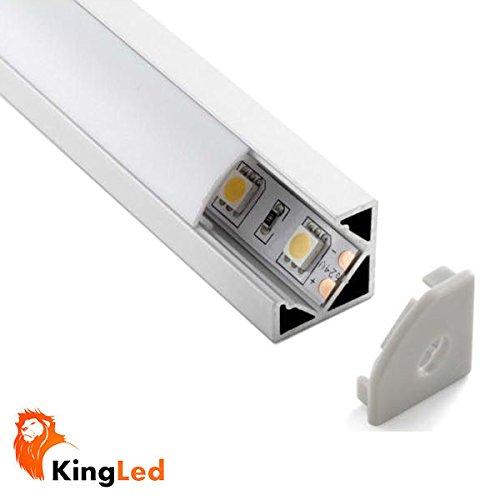 Perfil aluminio tira led - Precio tira led ...