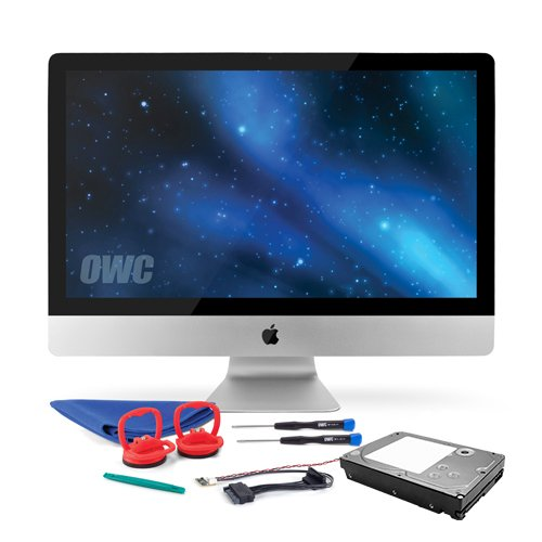 OWC 2.0TB SSHD Upgrade Kit For 2009-2010 iMacs, Includes Thermal Sensor, Tools, 2.0TB SSHD