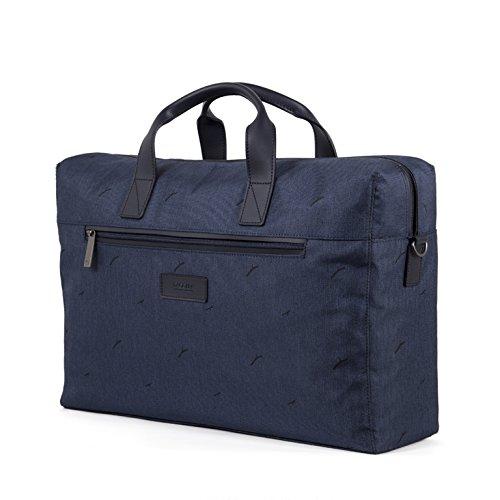 Blue 10.5 liters 40 cm Dark Blue GOLLA BAGS Tuhka Briefcase