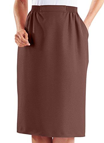 Alfred Dunner Skirt - Flat Front Petite Skirt