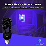 2 Pack BlueX CFL Yellow Bug Light Bulbs 24W