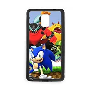 Special Design Cases Samsung Galaxy Note 4 N9108 Cell Phone Case Black Sonic Lost World Hpjmk Durable Rubber Cover