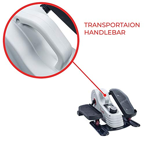 Sunny Health & Fitness Fully Assembled Magnetic Under Desk Elliptical – SF-E3872 by Sunny Health & Fitness (Image #7)