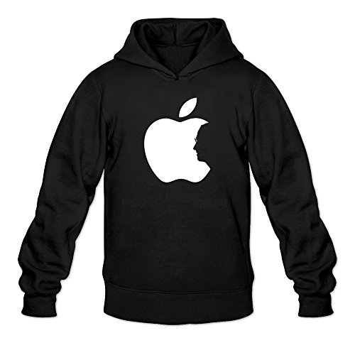 Man's IPhone IPad ITunes Apple Ceo Steve Jobs Hoodie Black