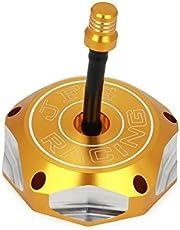 Billet Gas Fuel Tank Cap Cover - RMZ250 05-11 Z250 04-11 DRZ125 03-11 DRZ400 00-04 DRZ400E 00-07 LTR450 400 QUADRACER 06-09 400 QUADSPORT 03-08
