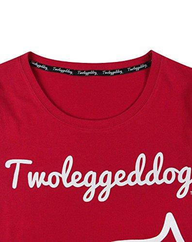 Two Legged Legged Mujeres Dog Dog Camiseta Two rPrw6Bxq