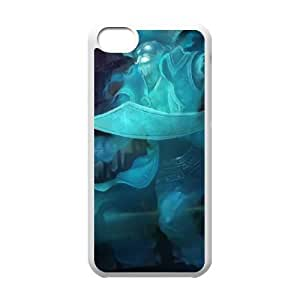 iPhone 5c Cell Phone Case White League of Legends Spooky Gangplank TJ2778883