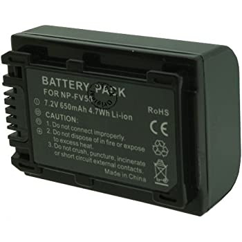 Otech Battery for SONY HDRCX230