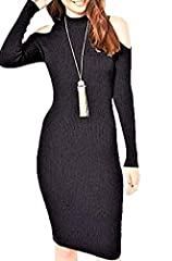 Brand:Miss Selfridge Condition:New with tags Category:Dresses Color: Blacks Size Type: Regular Size (Women's): 6 Sleeve Style: Long Sleeve Occasion: Party/Cocktail Style: Sheath Dress Look: Clubwear SWEATERDRESS Dress Length: Knee Length Mate...