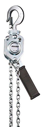 MAGNA Premium lever chain hoist - 1/4 ton, 5' lift