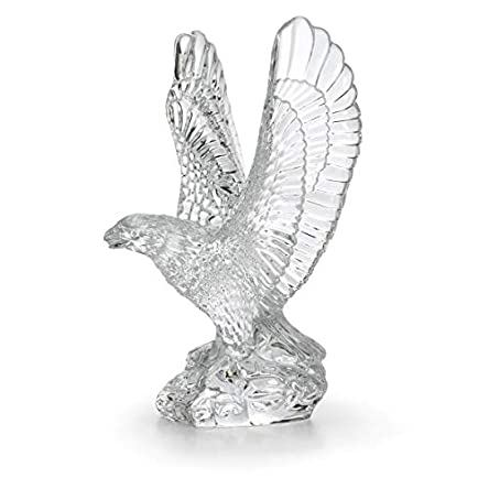 Waterford Fred Curtis 7.5″ Eagle Sculpture Collectible