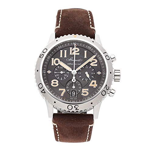 Breguet Type XXI Mechanical (Automatic) Grey/Charcoal Dial Mens Watch 3817ST/X2/3ZU (Certified Pre-Owned) (Breguet Watches Men)