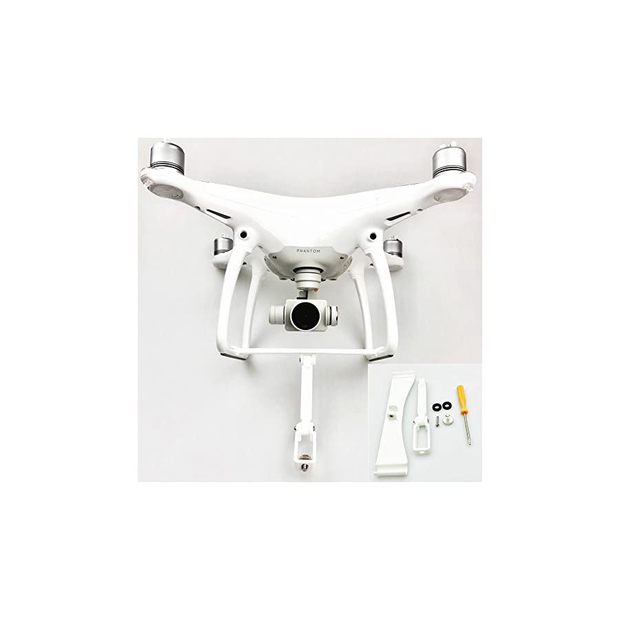 gouduoduo2018 Panoramic Camera 360 Degree Mount Bracket Holder Tripod 1/4 Base for DJI Phantom 4/Phantom 4 Pro/Phantom 4 Advanced