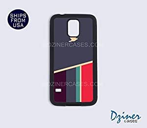 Galaxy S4 Case - Grey Stripes Pattern Bird