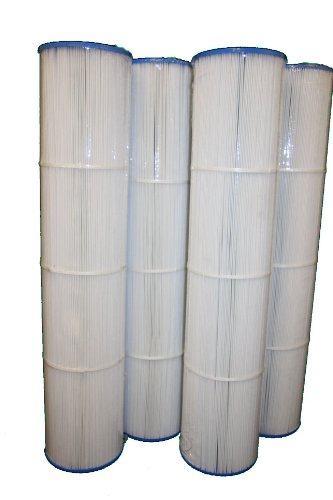 4 pk replaces-UNICEL C-7494 HAYWARD SWIMCLEAR CX1280XRE C5025 CARTRIDGE FILTER Pleatco PA131, filbur FC-1227 by Guardian Filtration Products