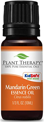 (Plant Therapy Mandarin Green Essence Oil 10 mL (1/3 oz) 100% Pure, Undiluted, Essence Oil)