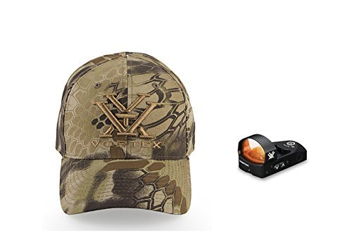 Unit Tool Camo - Vortex Optics Venom Red Dot Sight - 3 MOA Dot with Baseball Hat