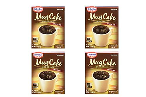 Dr. Oetker Mug Cake Chocolate Instant Cake Mix 3-Ounce (4 Count) (4 Pack) by Dr. Oetker (Image #1)