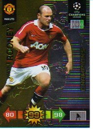 Adrenalyn XL Champions League 2010/11 - CHAMPIONS - Rooney [Toy]