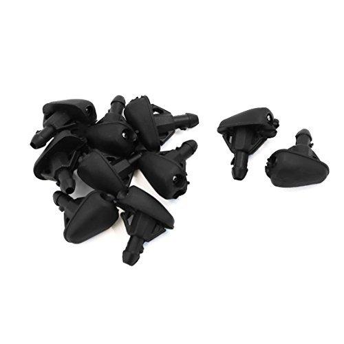 DealMux Limpiaparabrisas de doble escobilla agujeros de coches rociadura para lavado de la boquilla del rociador 10 PCS: Amazon.es: Coche y moto