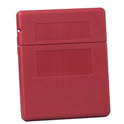 Justrite Document - JUSTRITE Document Storage Boxes - Medium Top Opening -RED