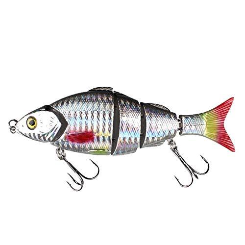 Ants-Store - Multi Segment Fishing Lure Hard Bait Bass Bionic Multi Jointed Perch Walleye Pike Muskie Roach Trout Swim bait