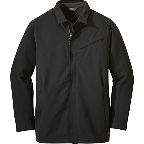 Outdoor Research Men's Prologue Travel Jacket, Black, Large