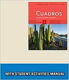 Amazon.com: Bundle: Cuadros Student Text, Volume 2