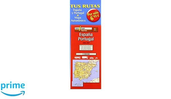 GALICIA ESPAÑA PACK Mapas de carreteras. Comunidades autónomas y ...