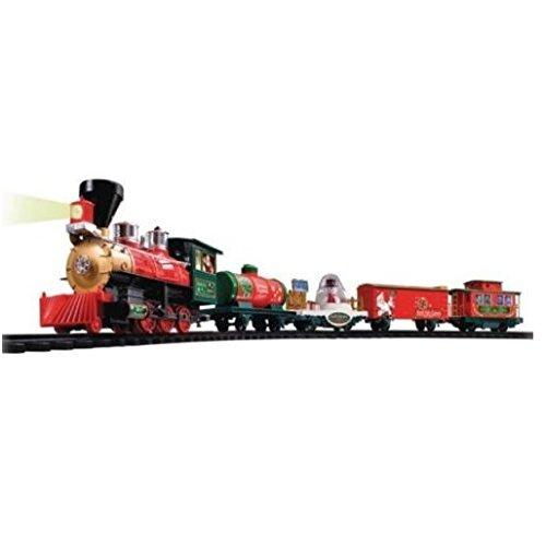 EZTEC 37299 Christmas Train North Pole Express w/ Remote Control (North Pole Express Christmas Train Set Eztec)