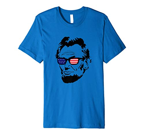 Abe Lincoln Shirt - 4th of July USA American Tee Gift Idea