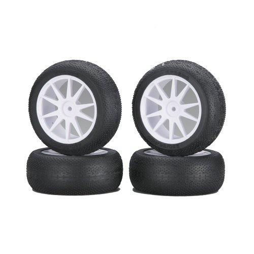 Foil pre-glued tire micro X (White / Mini Inferno) IHTH05W (japan import) by (Kyosho Japan)