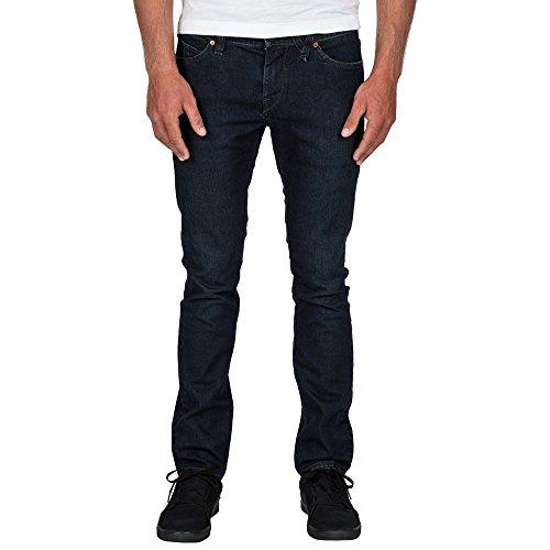 A1931510 Jeans Bleu Droit Volcom Homme HqBn1wS