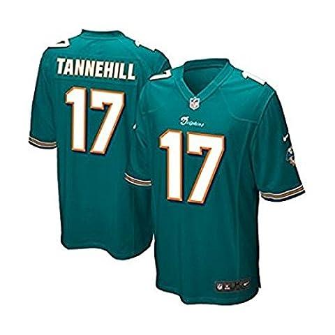 New Nike Onfield Ryan Tannehill Youth Miami Dolphins Aqua Retro Alternate Throwback Logo Jersey Sz - Miami Dolphins Throwback Jersey