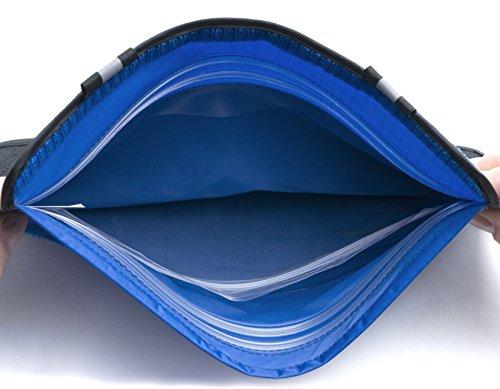 41jdI5nd%2BaL - Aqua Quest AQUAROO Blue Waterproof Running Belt Hidden Wallet for Boating, Kayaking, Biking, Jogging