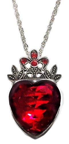 Disney's Descendants Evie Red Heart Pendant Necklace
