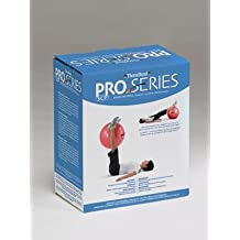 "Hygienic/Theraband 23025 PRO Series SCP Exercise Ball for Body Height 5'1""-5'6"", 55cm Diameter, Red (Pack of 10)"