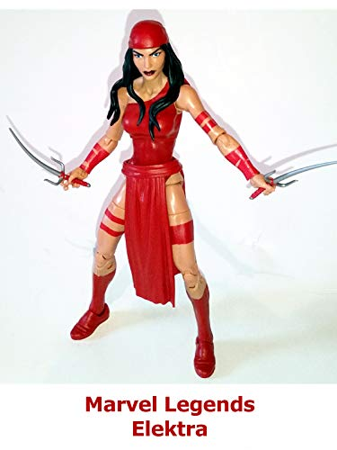 Clip: Marvel Legends Elektra ()