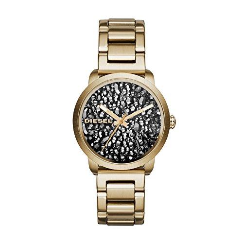 Diesel DZ5521 Ladies Flare Gold Steel Bracelet Watch
