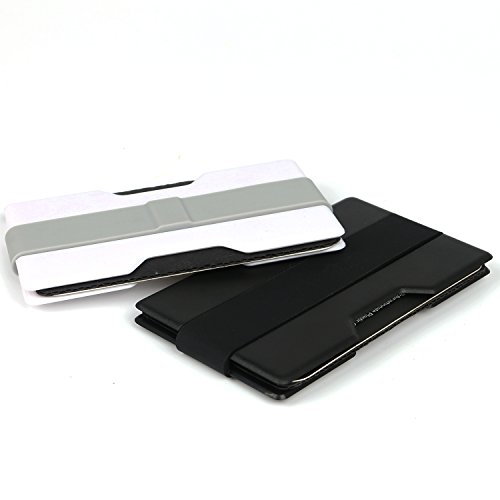 Minimalist Front Pocket Super Slim Mens Wallet Money Clip Credit Card Holder (2 PCS) (Gifts For Young Man)
