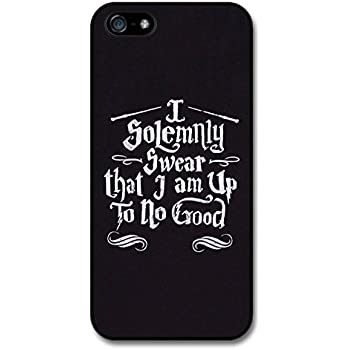 Harry Potter I Solemnly Swear Am Up To No Good Marauders Map Quote Case For
