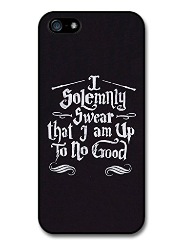 I Solemnly Swear I Am Up To No Good Marauder's Map Quote hülle für iPhone 5 5S