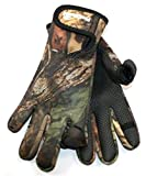 Proclimate Neoprene Shooting Gloves - Camouflage: M/L
