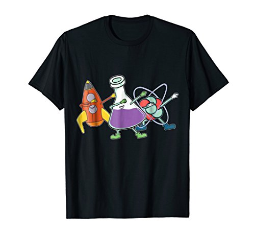 Dabbing Science Shirt - Science Party Dab Shirt -