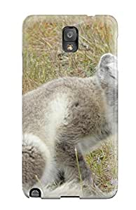 Premium Arctic Foxes Heavy-duty Protection Case For Galaxy Note 3