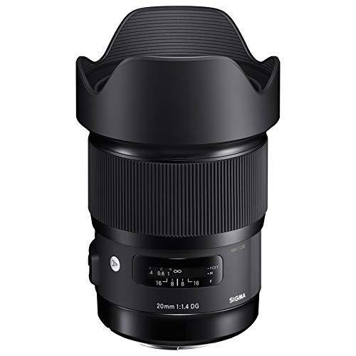 Sigma 412965 objetivo para híbrida 20 mm negro