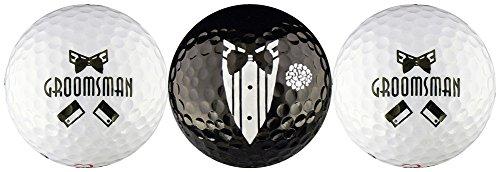 EnjoyLife Inc Groomsman Wedding Variety Golf Ball Gift Set