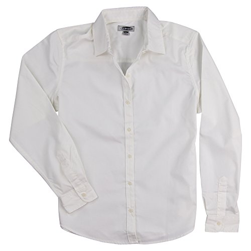 Womens Long Sleeve Twill Shirt - 9